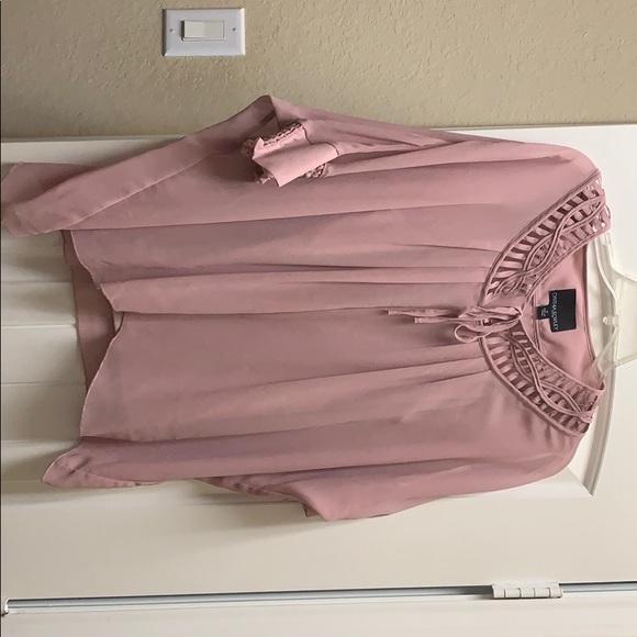 Cynthia Rowley Tops - Blush pink blouse
